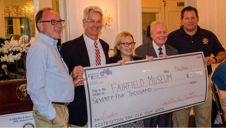 Donating $75,000 to the Fairfield Museum Victorian Cottage Education Program